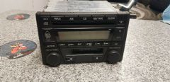 MAZDA MX5 (MK2.5 2001 - 2005) RADIO / CD PLAYER HEAD UNIT - DOUBLE DIN   BLACK